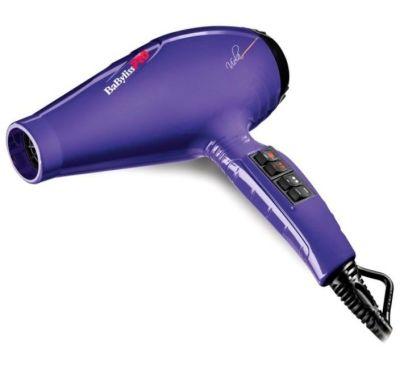 Фен BaByliss PRO Luminoso Viola 6350 с ионизацией 2100W фиолетовый