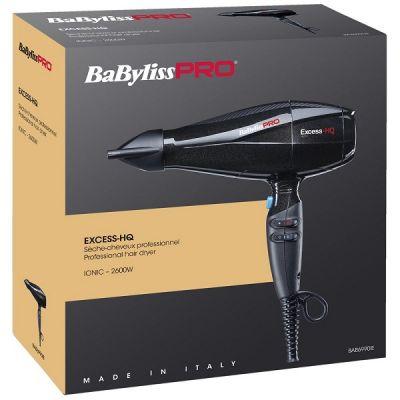 Фен BaByliss PRO Exсess 6990 с ионизацией 2600W черный