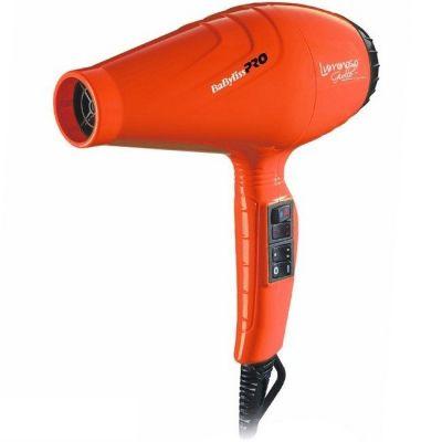 Фен BaByliss PRO Luminoso Arancio 6350 с ионизацией 2100W оранжевый
