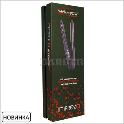 Гофре для волос HairMaster Impreza с узкими пластинами 30W прикорневой объем