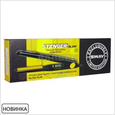 Гофре для волос Sway Stinger Slim с узкими пластинами 30W прикорневой объем