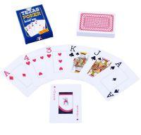 Карты игральные Texas Poker пластиковые 54 листа толщина 0,28мм