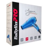 Фен BaByliss PRO Luminoso Azzurro 6350 с ионизацией 2100W голубой