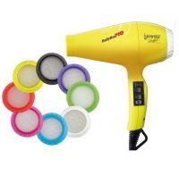 Фен BabylissPro Luminoso Giallo Ionic 6350IYE 2100W желтый