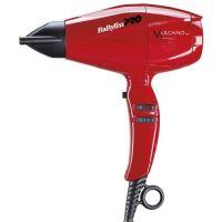 Фен BaByliss PRO Vulcano 6180 с ионизацией 2200W красный