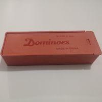 Домино игровое Dominoes 4006B кости пластик средние