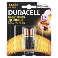 Батарейки Duracell AAA R3 упаковка 2 шт