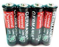 Батарейки Germania AAA R3 упаковка 4 шт