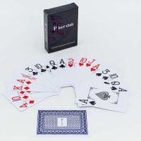 Карты игральные Poker Club пластиковые 54 листа толщина 0,32мм